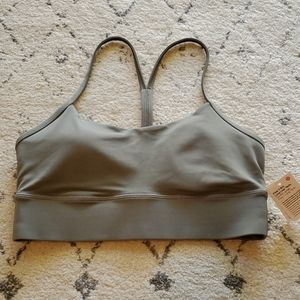 Lululemon flow y long line bra